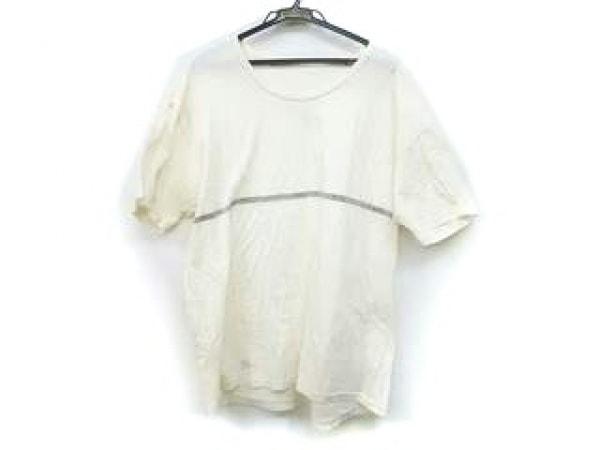 Papas(パパス) 半袖Tシャツ サイズL メンズ アイボリー