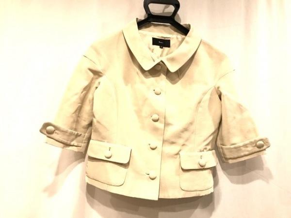 KEMIT(ケミット) ジャケット サイズ38 M レディース美品  ベージュ