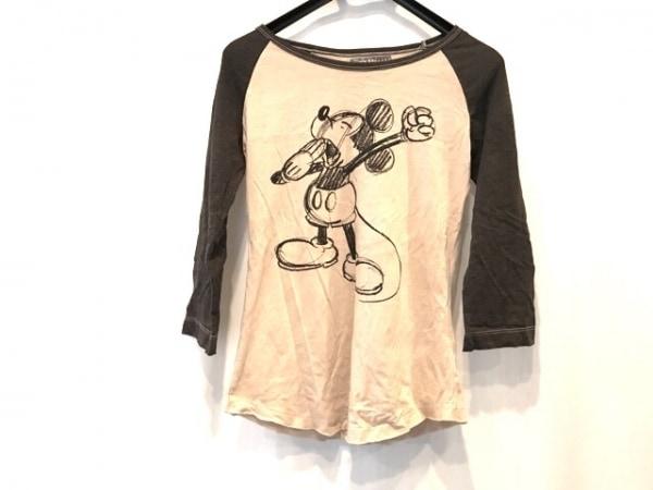 DISNEY VINTAGE(ディズニービンテージ) 七分袖Tシャツ サイズM レディース