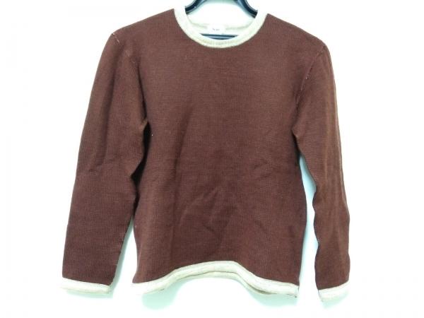 SCYE(サイ) 長袖セーター サイズ38 M レディース ダークブラウン×ベージュ