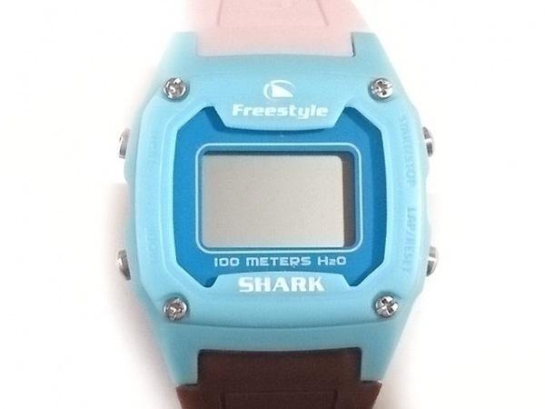 シェルショア 腕時計美品  - FS84863 レディース Freestyleコラボ/ラバーベルト
