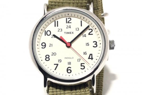 TIMEX(タイメックス) 腕時計 INDIGLO CR2016CELL ボーイズ 白
