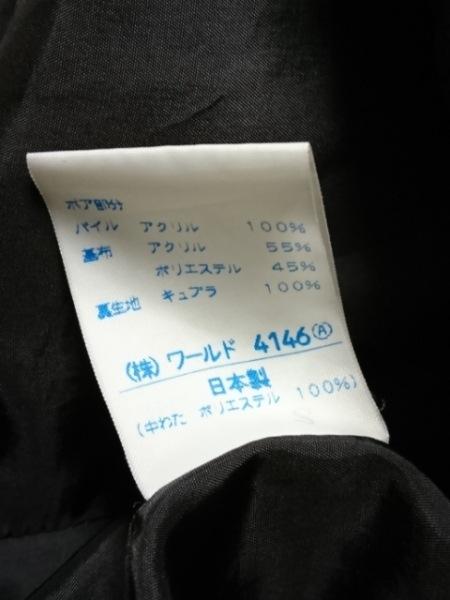 ビルダジュール ブルゾン サイズ40 M レディース 黒 フェイクファー/冬物