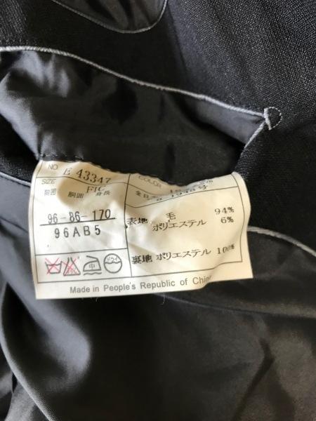 ヨシユキコニシ ジャケット メンズ美品  黒 FICCE COLLEZIONE/ネーム刺繍