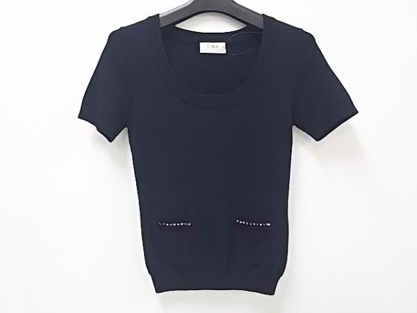 UMA ESTNATION(ユマエストネーション) 半袖セーター サイズ38 M レディース美品