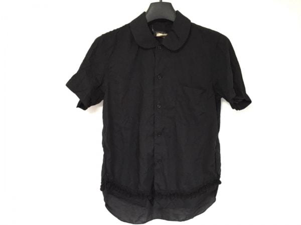 ブラックコムデギャルソン 半袖シャツブラウス サイズXS レディース美品  黒