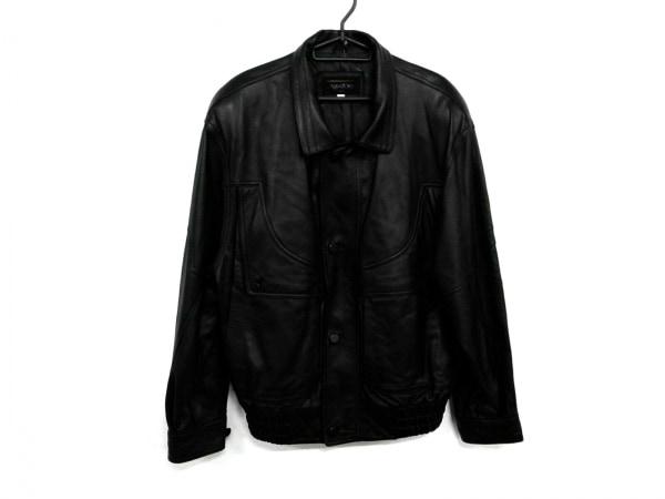 Ago D'oro(アゴドーロ) ライダースジャケット サイズLL メンズ 黒