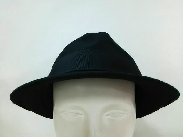 CHRISTYS'(クリスティーズ) ハット美品  黒 ウール
