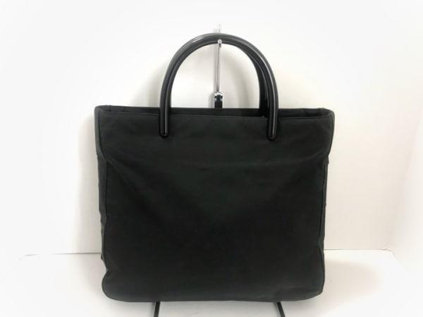 PRADA(プラダ) トートバッグ - 黒 ナイロン×プラスチック
