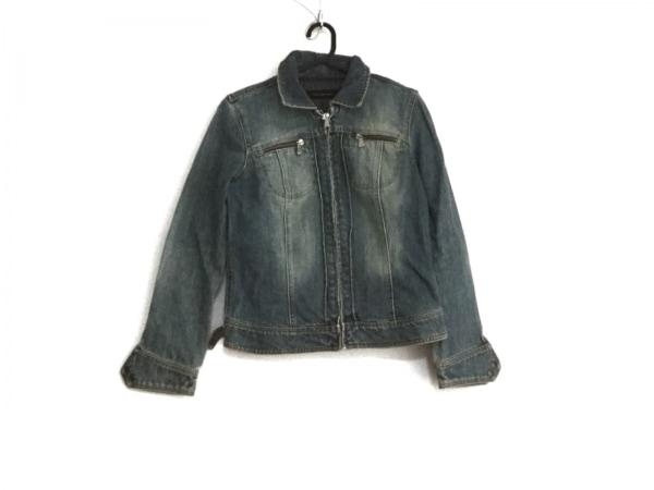 Calvin Klein Jeans(カルバンクラインジーンズ) Gジャン サイズL レディース ブルー