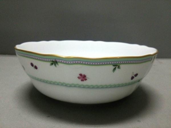 Noritake(ノリタケ) プレート新品同様  白×ゴールド 21cmサラダボール 陶器