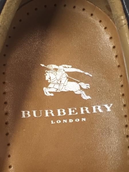 925a6e6e95eed ... Burberry LONDON(バーバリーロンドン) スリッポン メンズ ダークブラウン レザー ...