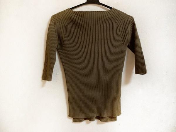 AURALEE(オーラリー) 七分袖セーター サイズ1 S レディース ブラウン