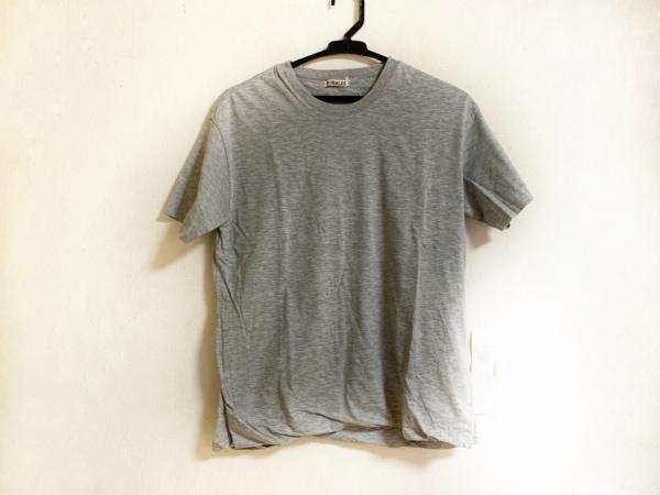 AURALEE(オーラリー) 半袖Tシャツ サイズ1 S レディース グレー