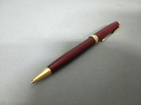 PARKER(パーカー) ボールペン美品  ボルドー×ゴールド インクあり(黒) 金属素材