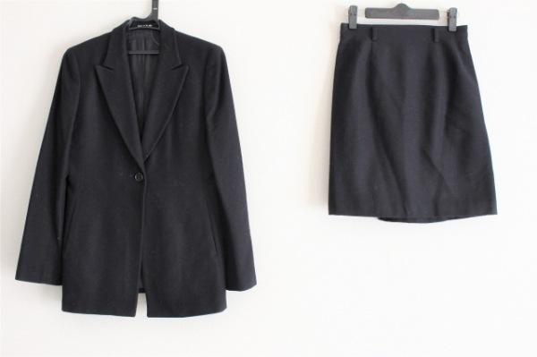 COMME CA DU MODE(コムサデモード) スカートスーツ サイズM レディース 黒