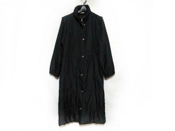 スポーツマックス ダウンコート サイズ40 M レディース美品  黒 冬物/袖取り外し可