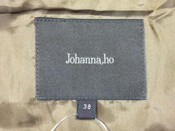 ジョアンナホー ジャケット サイズ38 M レディース ダークブラウン レザー