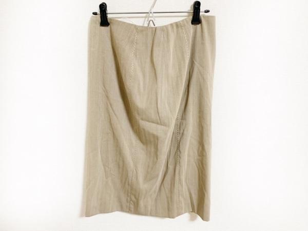 RENA LANGE(レナランゲ) スカート サイズ42 L レディース美品  ダークブラウン
