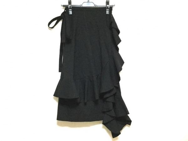 ジェイダブリューアンダーソン 巻きスカート サイズS レディース美品  黒 ×ユニクロ
