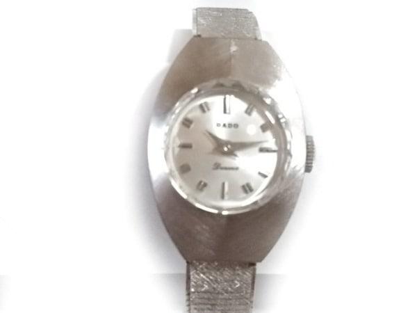 RADO(ラドー) 腕時計美品  - レディース 要OH シルバー