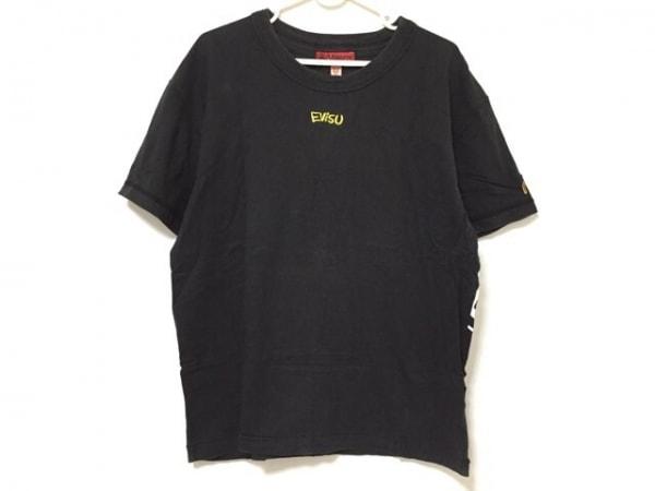 YAMANE(ヤマネ) 半袖Tシャツ サイズ42 L メンズ 黒×白×イエロー