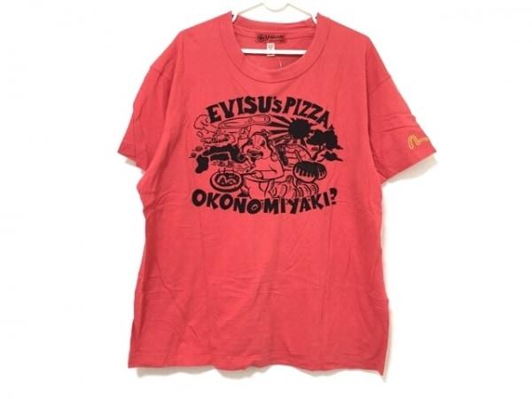 YAMANE(ヤマネ) 半袖Tシャツ サイズ42 L メンズ レッド×黒