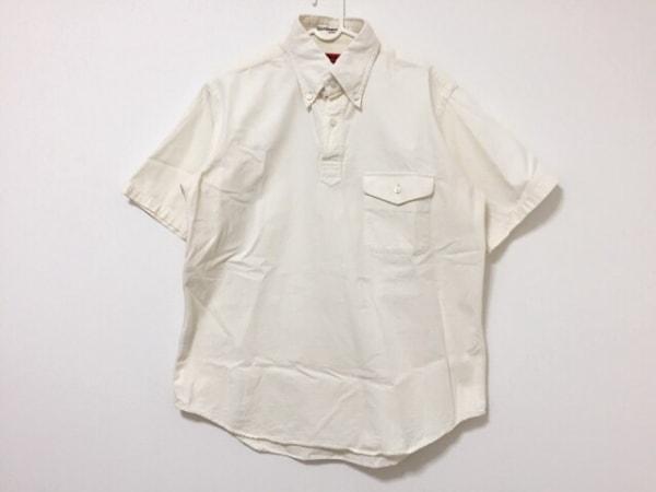 YAMANE(ヤマネ) 半袖カットソー サイズ40 M メンズ アイボリー
