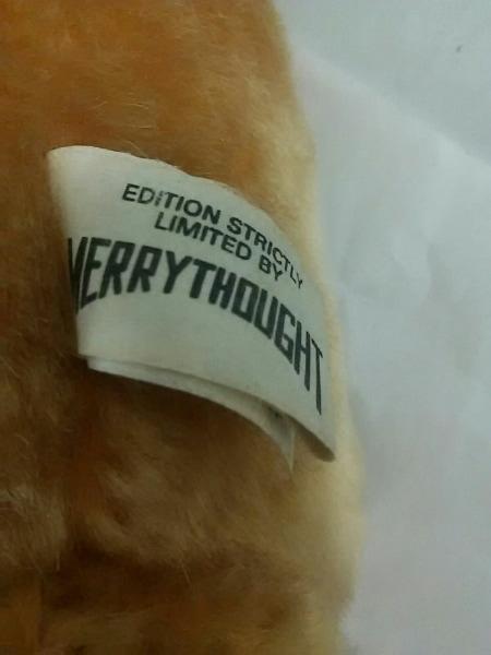MERRY THOUGHT(メリーソート) ぬいぐるみ ベージュ 化学繊維