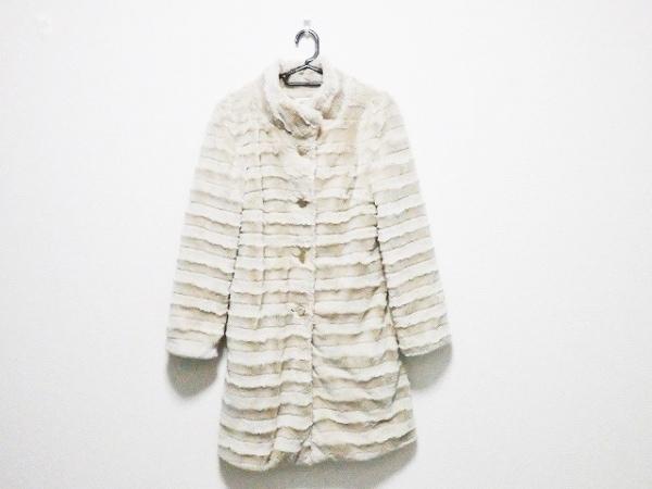 le.coeur blanc(ルクールブラン) コート サイズ38 M レディース ライトベージュ 冬物