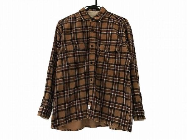 ナイジェルケーボン ジャケット サイズ2 M メンズ美品  ブラウン×黒×レッド
