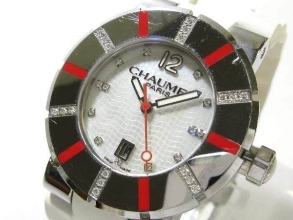 CHAUMET(ショーメ) 腕時計 クラスワン 622C-14087 レディース ホワイトシェル