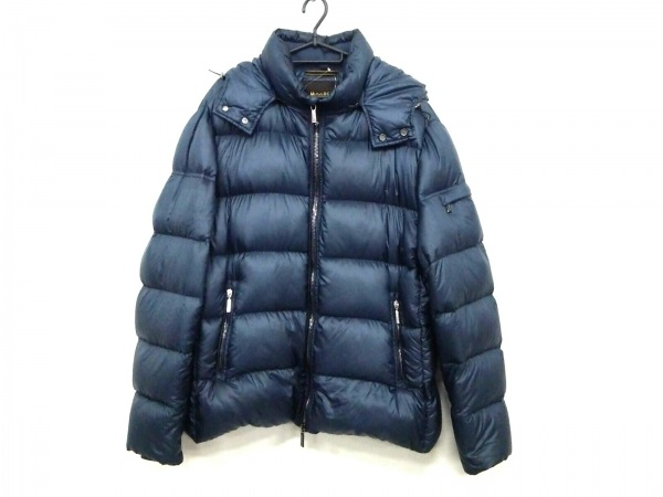MOORER(ムーレー) ダウンジャケット サイズ56 メンズ ネイビー 冬物