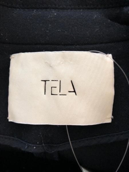 TELA(テラ) コート サイズ42(I) M レディース 黒 ロング丈/冬物