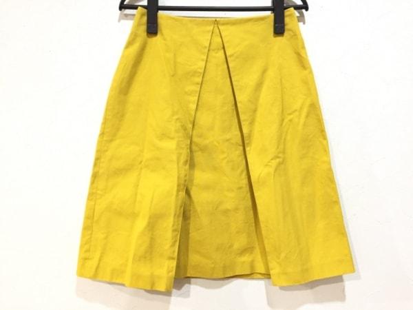 ASTRAET(アストラット) スカート サイズ0 XS レディース美品  イエロー