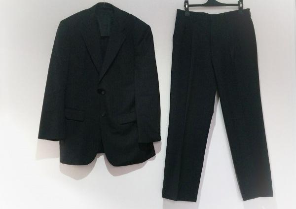 DURBAN(ダーバン) シングルスーツ メンズ ダークグレー×グレー