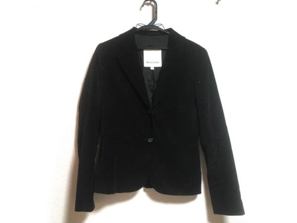 Henry Cotton's(ヘンリーコットンズ) ジャケット サイズ42 L レディース 黒 ベロア