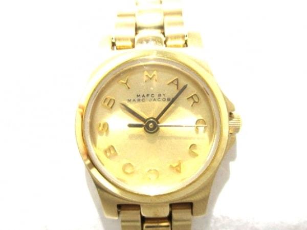MARC BY MARC JACOBS(マークジェイコブス) 腕時計美品  MBM3199 レディース ゴールド