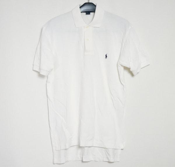 POLObyRalphLauren(ポロラルフローレン) 半袖ポロシャツ サイズS メンズ 白