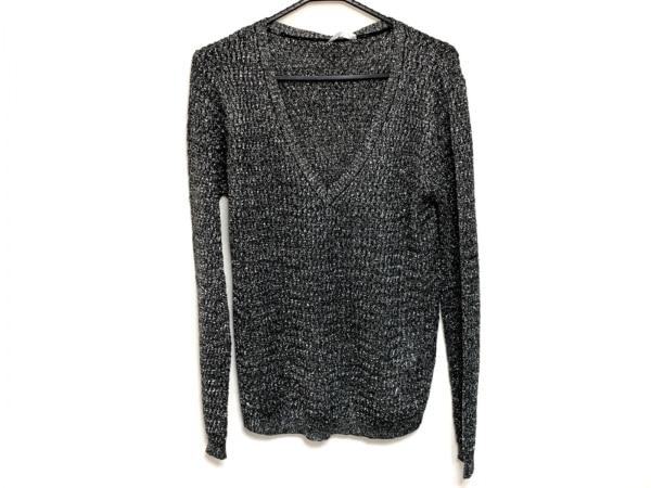 Supertrash(スーパートラッシュ) 長袖セーター サイズL レディース美品  黒×シルバー