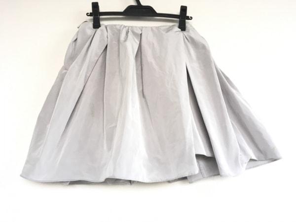 CARVEN(カルヴェン) スカート サイズ36 S レディース ライトグレー