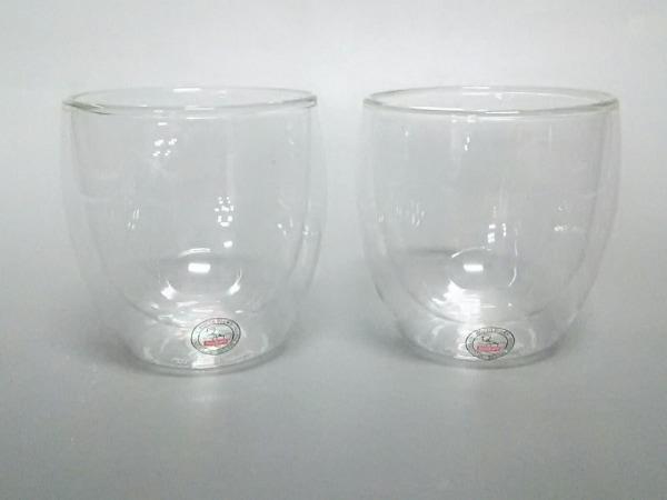 bodum(ボダム) ペアグラス新品同様  クリア ガラス