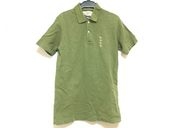 Mountain Research(マウンテンリサーチ) 半袖ポロシャツ メンズ グリーン