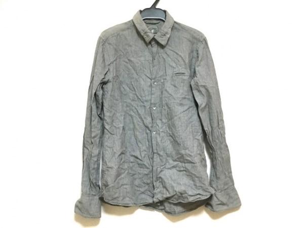MIHARAYASUHIRO(ミハラヤスヒロ) 長袖シャツ サイズS メンズ ダークグレー