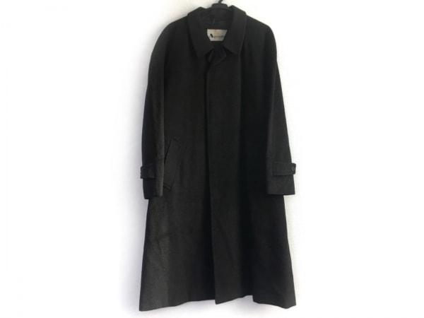 Aquascutum(アクアスキュータム) コート メンズ ダークグレー ネーム刺繍/冬物