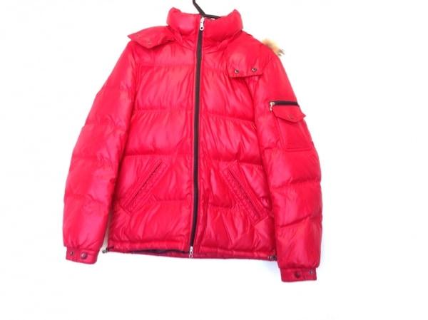 MEN'S MELROSE(メンズメルローズ) ダウンジャケット サイズ2 M メンズ レッド 冬物