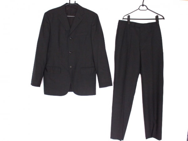 コンプリート シングルスーツ サイズ4 XL メンズ美品  ダークグレー