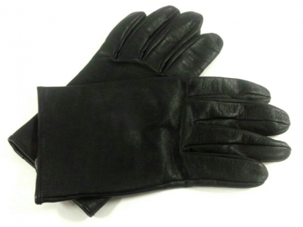 DENTS(デンツ) 手袋 S メンズ美品  黒 レザー