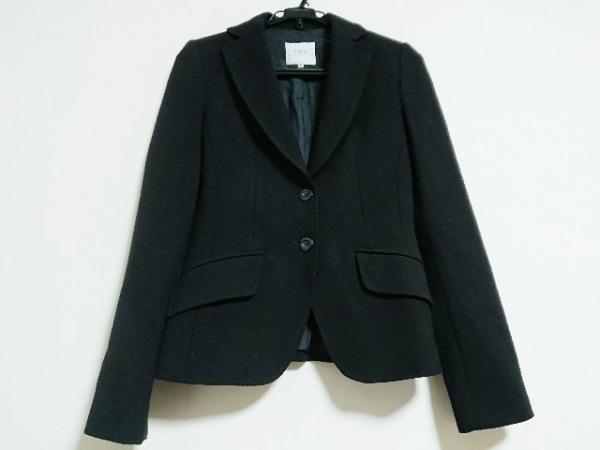 UMA ESTNATION(ユマエストネーション) ジャケット サイズ40 M レディース美品  黒