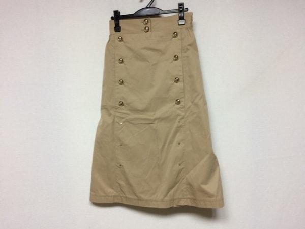 CINOH(チノ) ロングスカート サイズ38 M レディース新品同様  ベージュ